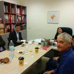"""מפגש עם ד""""ר לו שיאוחואה, קמפוס GTIIT – Guangdong Israel Institute of Technology"""